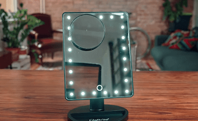 Melvin's fourth of five product recommendations is this LED mirror