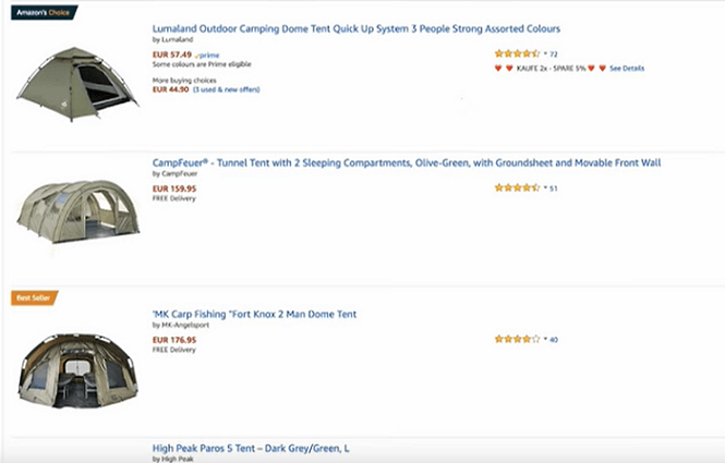 Using Amazon as a benchmark for your dropshipping product and niche