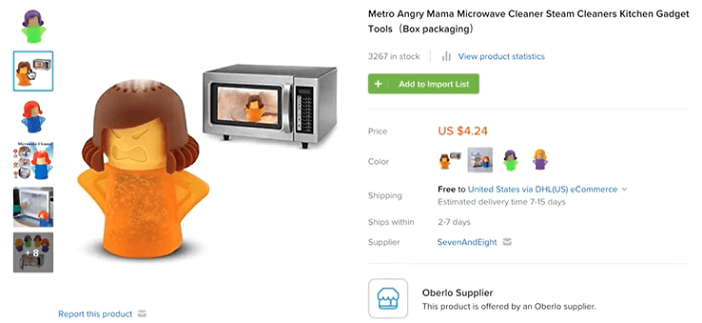 This microwave steam cleaner is a good product to sell in 2019