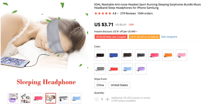 The anti-noise sleep headband is a problem-solving product