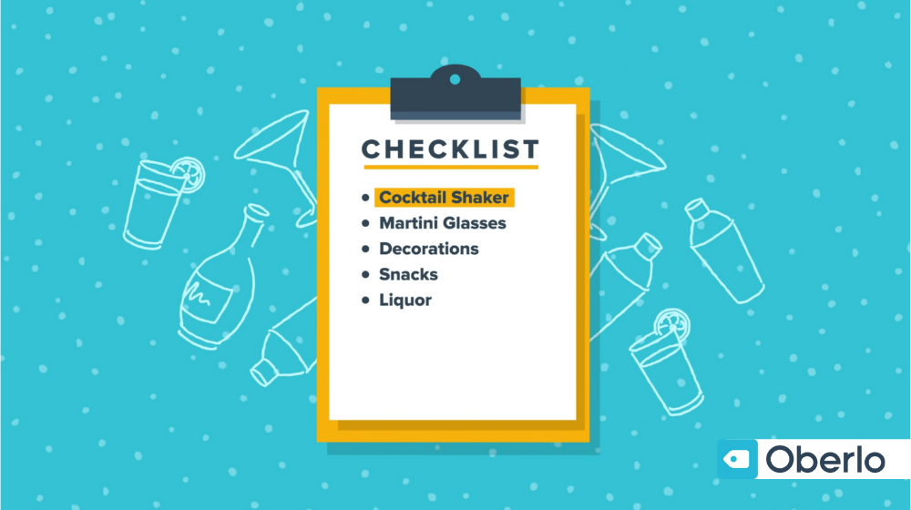 Understanding customer psychology with a shopping checklist
