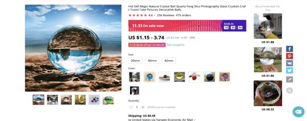 The photography crystal ball is a bonus huge potential product