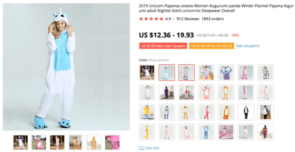 Consider dropshipping these unicorn onesies in the winter