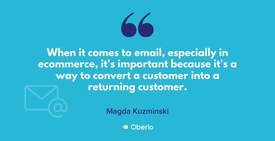 Why email marketing is important for ecommerce