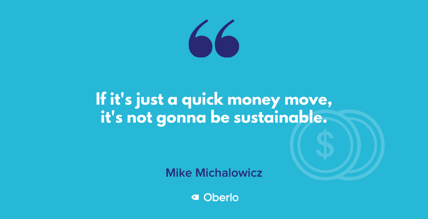 Mike on unsustainability of quick money moves