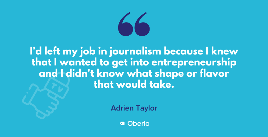 Adrien Taylor on starting a sustainable brand