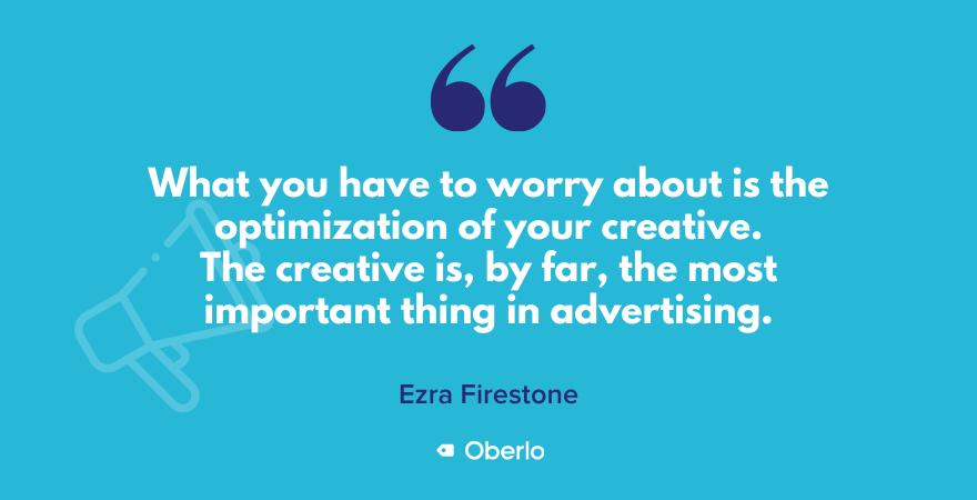 Ezra Firestone quote