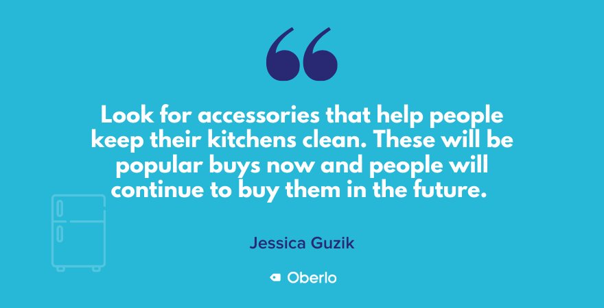 Jessica on why you should consider selling kitchen accessories