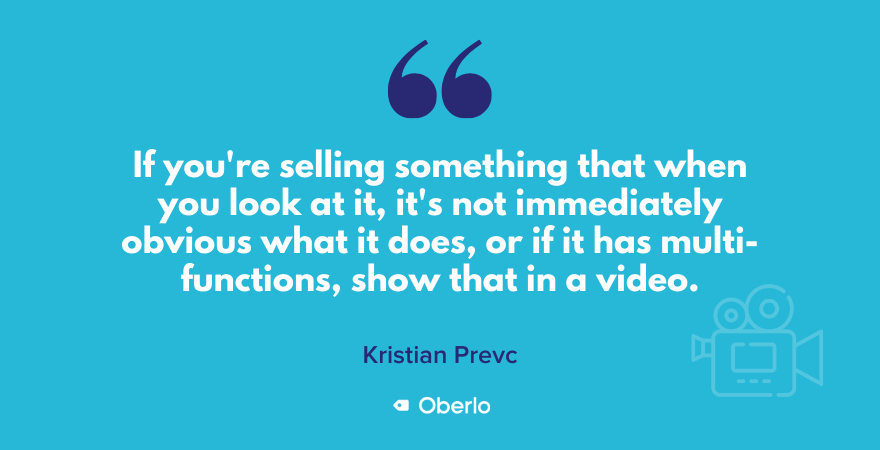 Kristian talks about when you should use video