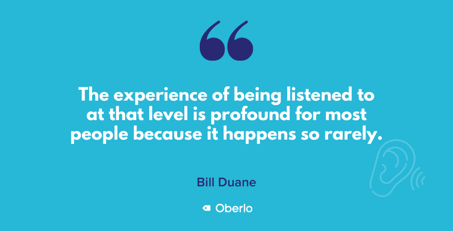 Bill Duane talks about listening as a meditation practice