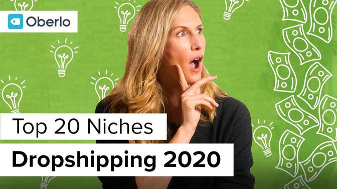 top 20 dropshipping niches in 2020