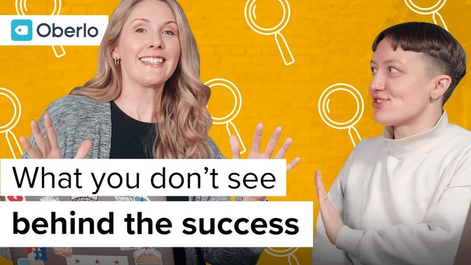 what you don't see behind the success