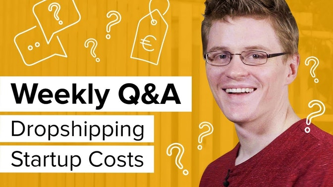 dropshipping startup costs