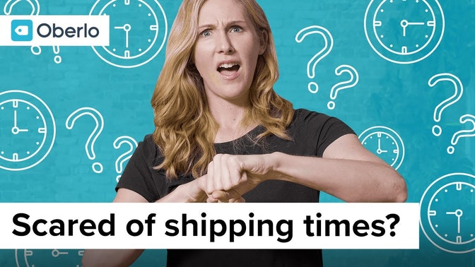 scared of shipping times?