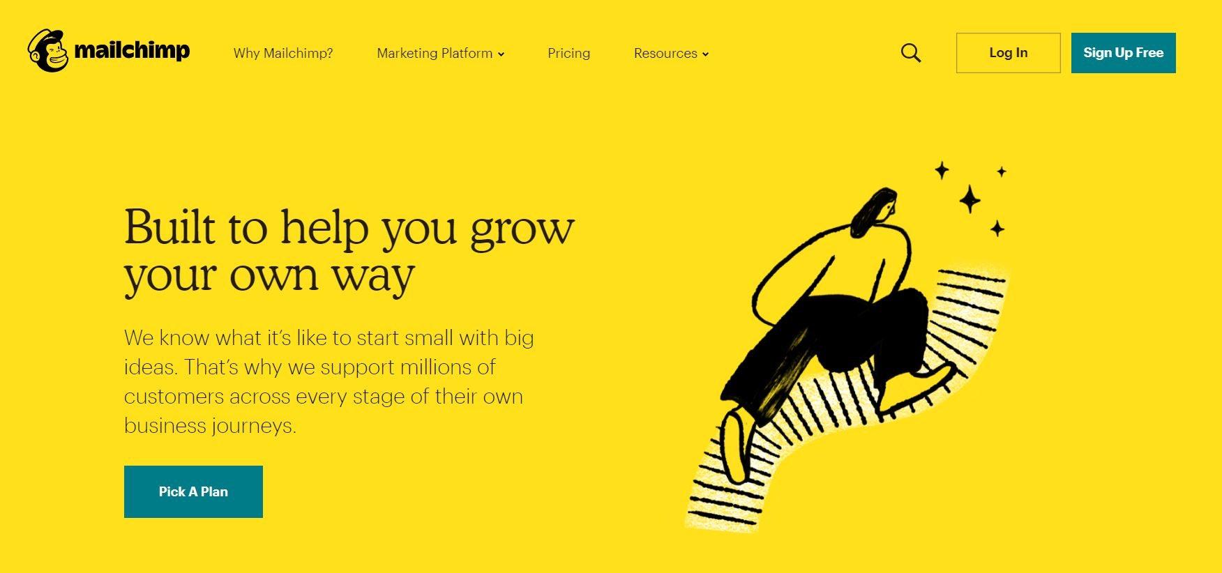 Newsletter Marketing mit Mailchimp - Screenshot