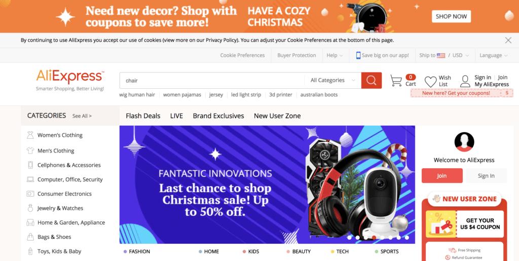 AliExpress E-Commerce