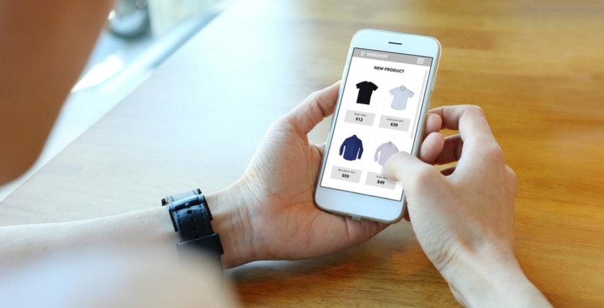 E-Commerce auf Mobile