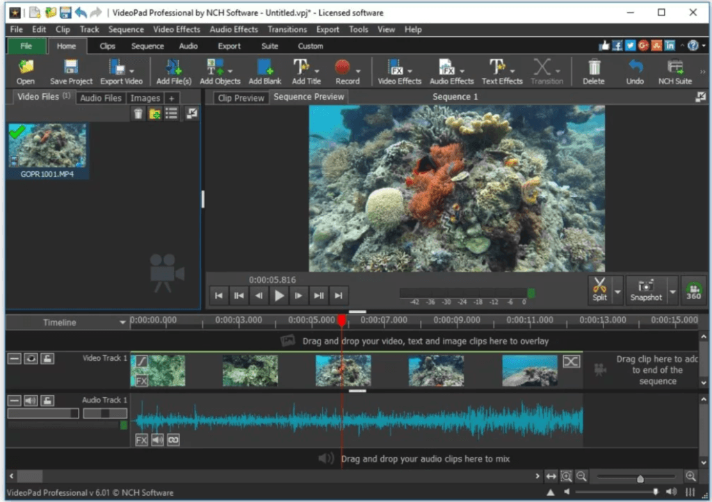 Videopad Screenshot