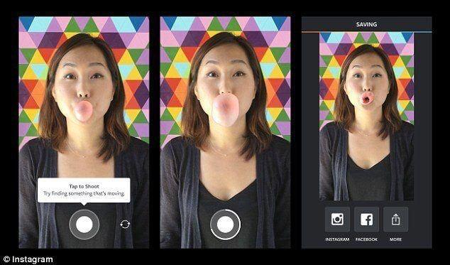 Boomerang App Videobearbeitung