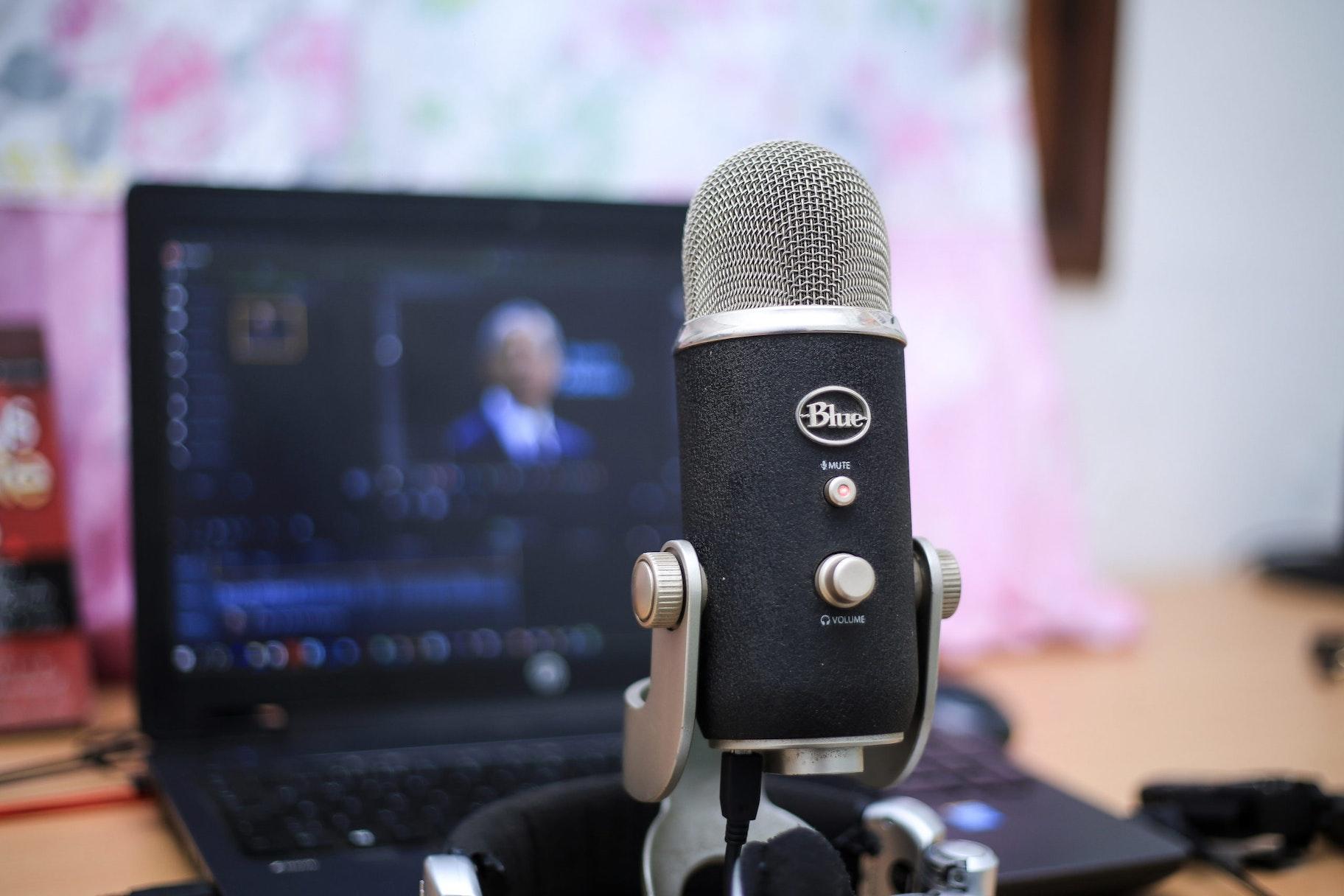 Mikrofon für Webinar