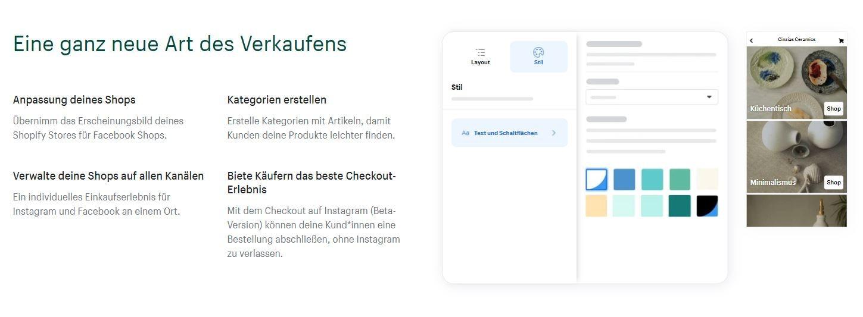 Einrichten eines Facebook Shops auf Shopify