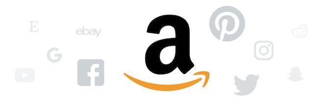 Amazon Symbol als Vertriebskanal