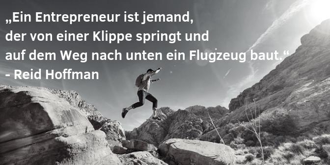 Entrepreneur Zitate - Hoffmann