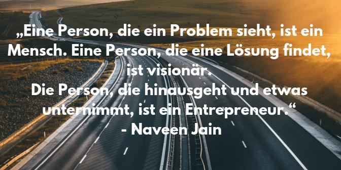 Entrepreneur Zitate - Jain