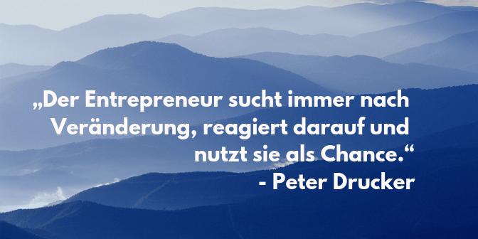 Entrepreneur Zitate - Drucker