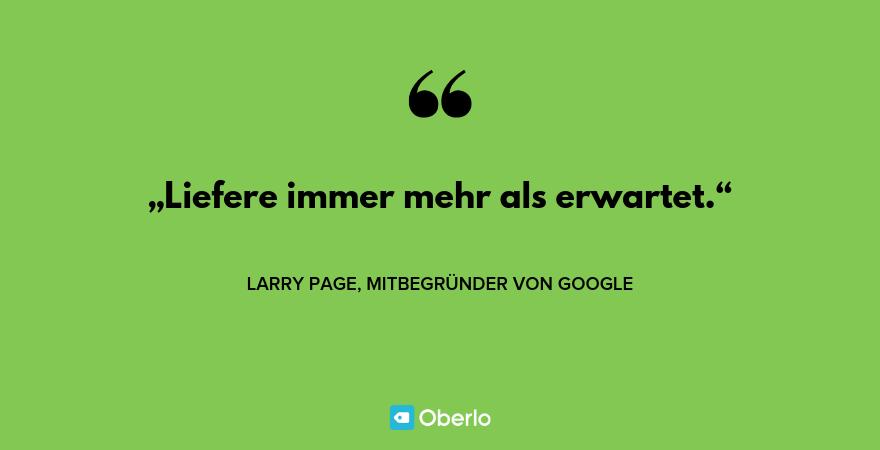 Motivationssprüche - Larry Page