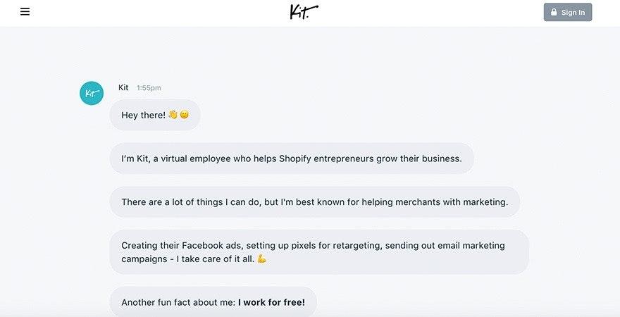 Marketing Automation mit Kit