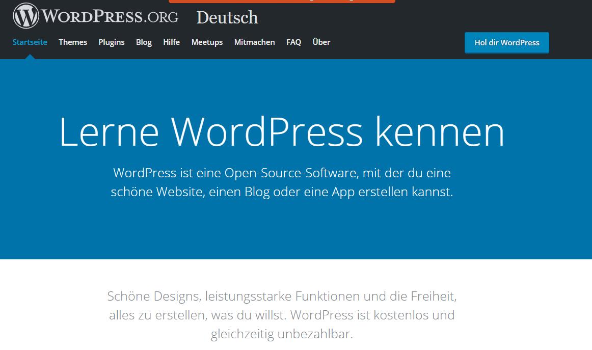 Blog erstellen mit WordPress.org