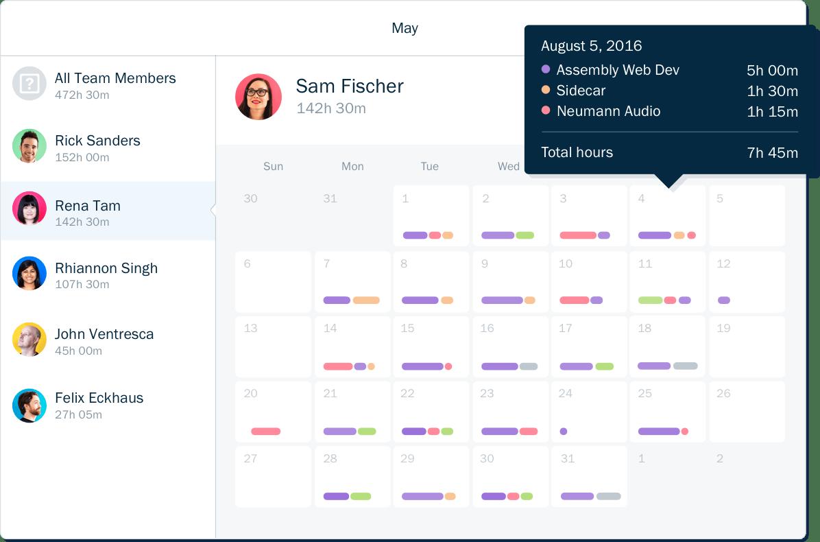 Time Tracker App - Freshbooks