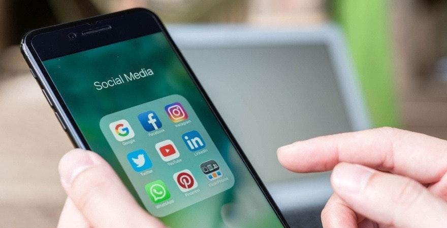 social media marketing - einrichten der konten
