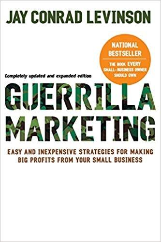 Guerilla Marketing - Buchtitel Levinson