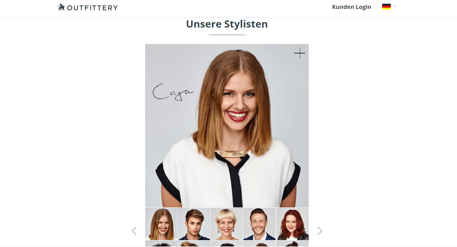 über uns seite outfittery