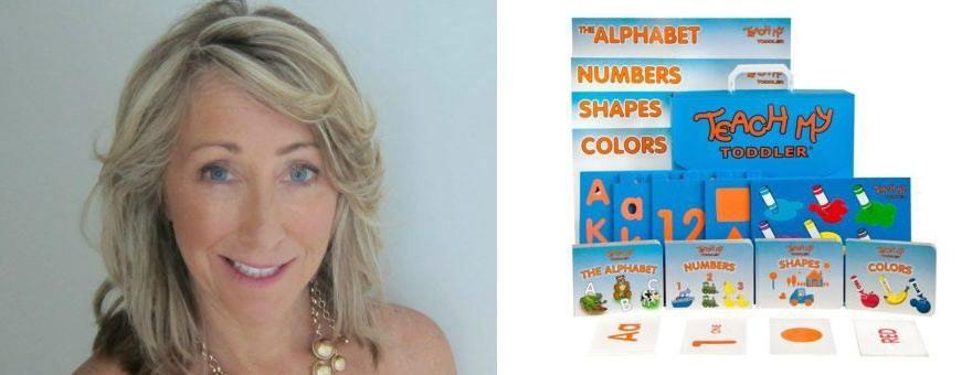 Heimarbeit - Christy Cook mit Produkt Teach My