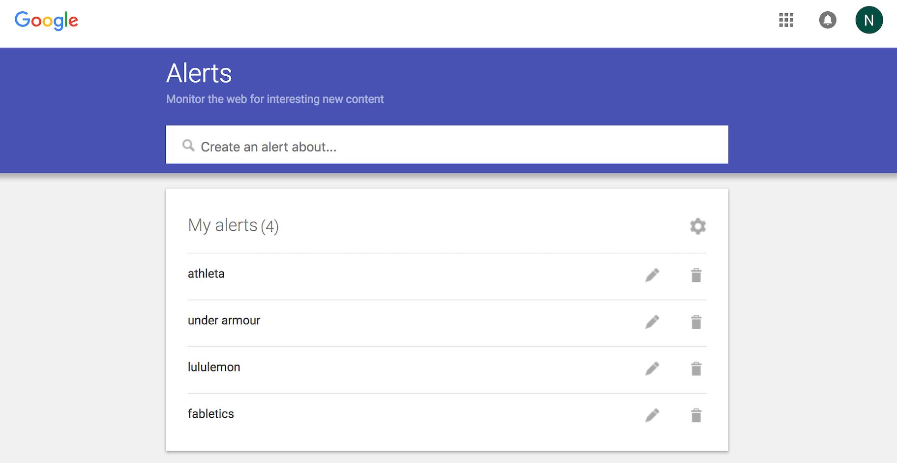 Marketing Mix & Marketingstrategien - Google Alerts