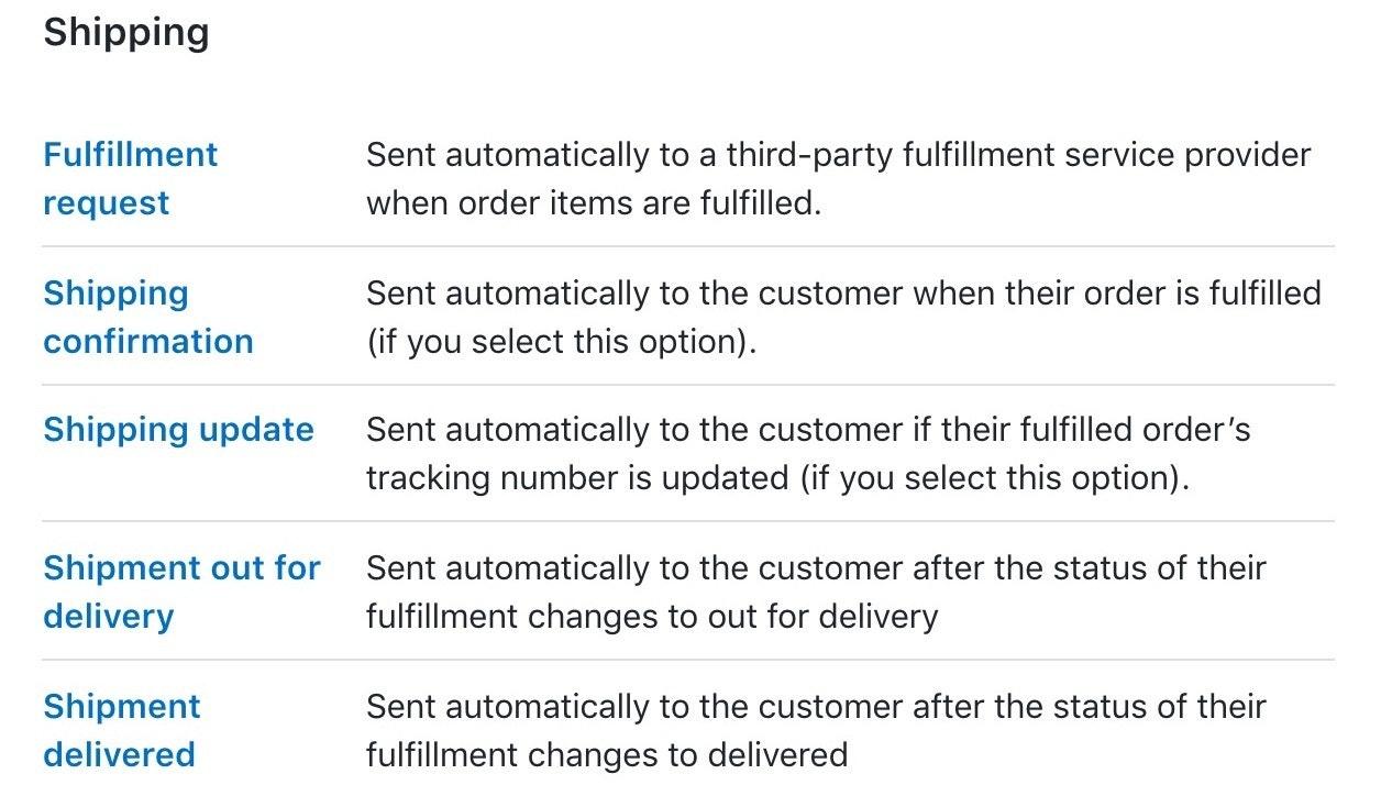 Shopify Versandeinstellungen zur Kundenbindung