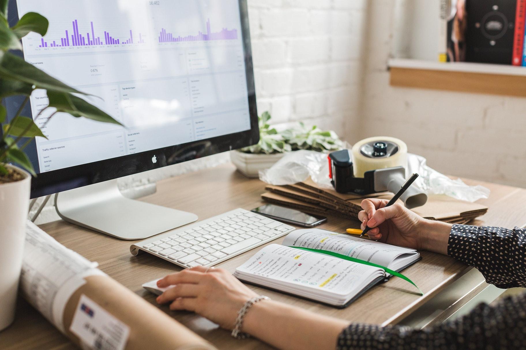 Desktop für e-commerce kundenservice