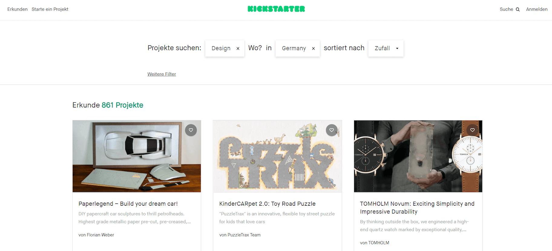 Kickstarter - Ordering without MOQ
