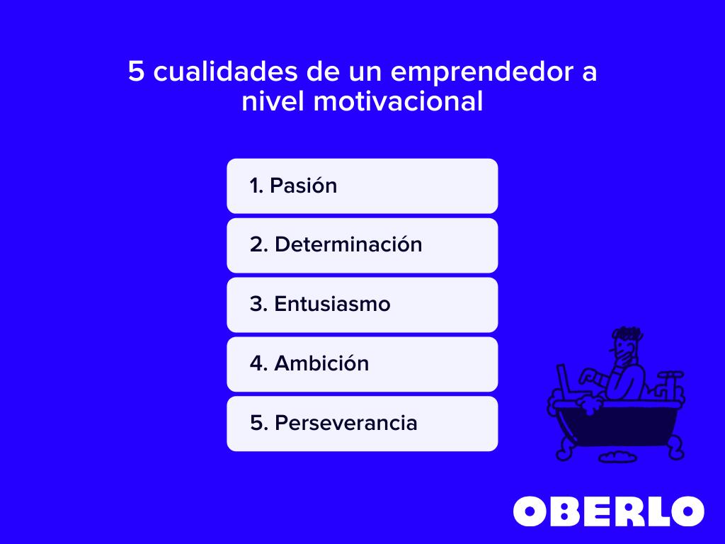 5 cualidades de un emprendedor a nivel motivacional
