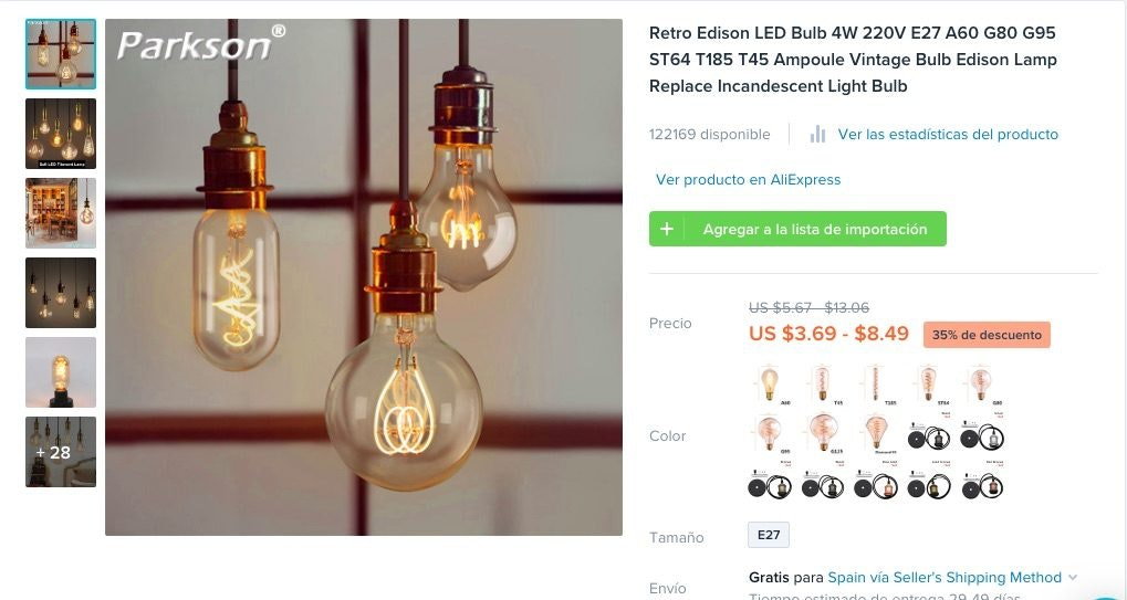 ejemplos de productos nuevos en el mercado
