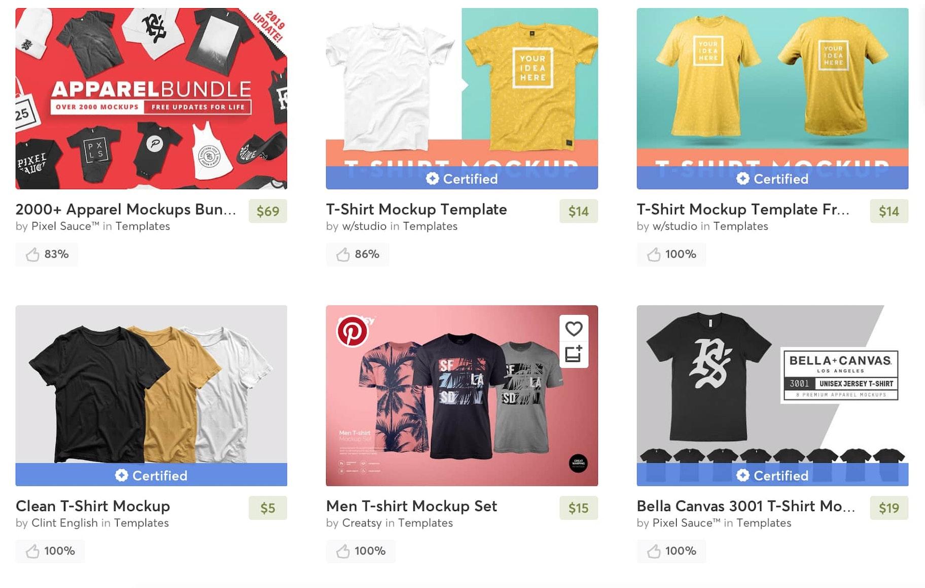 Mockup-de-camisetas-Creative-Market