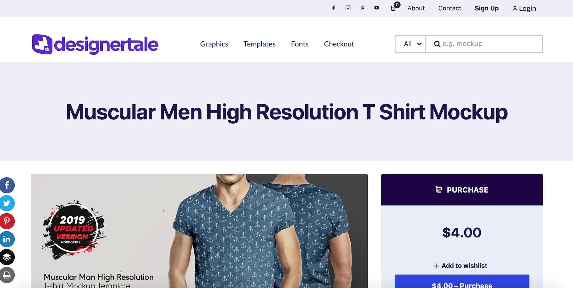 Designer-Tale-t-shirt-mockup