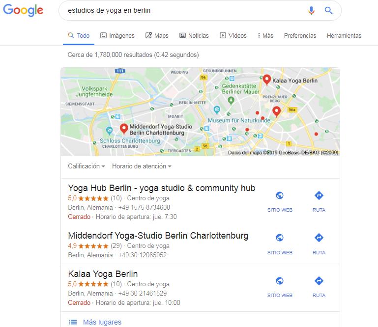 estudios de yoga berlin