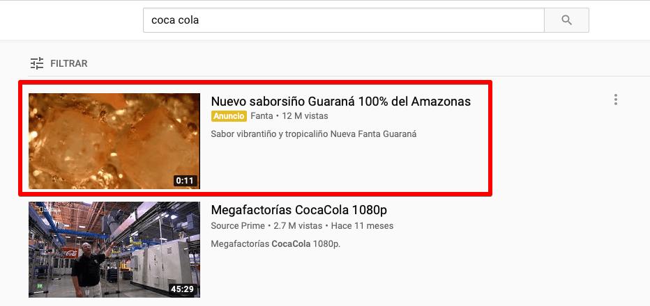 ANUNCIOS DE DESCUBRIMIENTO