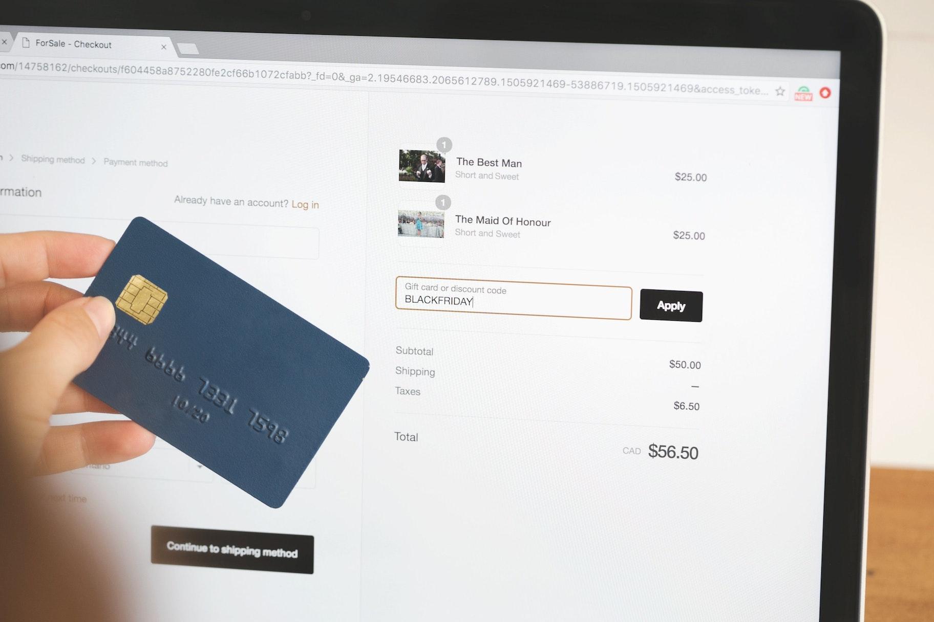 Checkout compras online