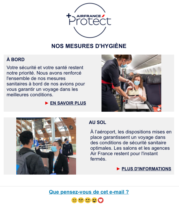 newsletter air france