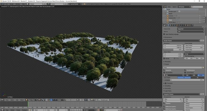 logiciel animation 3d en ligne Blender